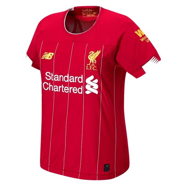 New Balance Womens Liverpool Home Jersey 2019-2020 - WT930000 - AuthenticSoccer.com