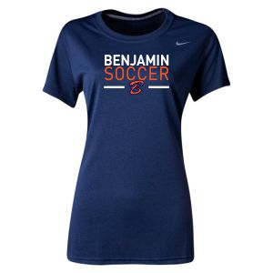 Benjamin School Nike Women's Legend Training Jersey - Navy Ben-453181-419