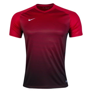 Nike Youth Precision IV Jersey - Red/Black 886830-657