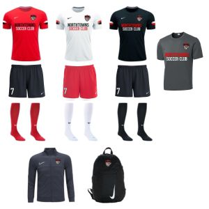 Northtowns Soccer Club - Adult Required Kit (Shorts Are In Women Sizes Only) NSC-ADKT19WS