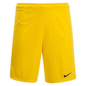 Nike Youth League Knit Goalkeeper Shorts - Yellow 725983-719