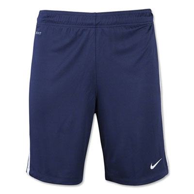 Benjamin School Nike League Knit Shorts - Navy/White BEN-725897-419