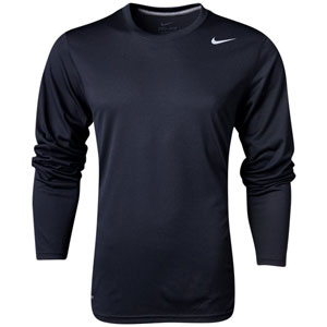 Nike Youth Team Legend Long Sleeve Top - Black/Cool Grey 840177-010