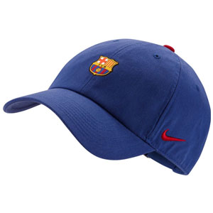 Nike Barcelona Heritage86 Cap - Deep Royal Blue/Noble Red 852167429010101