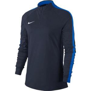 Nike Women's Academy 18 Drill Top - Navy 893710-451