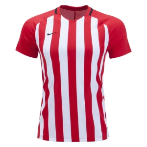 Nike Strip Division III Jersey - Red/White 894096-658