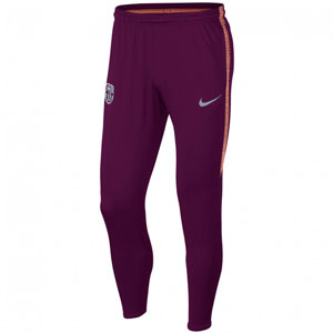 Nike Barcelona Dri Fit Squad Pant 2018 - Deep Maroon/Light Atomic Pink 894357-669