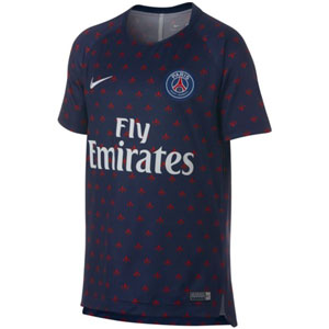 Nike Paris Saint-Germain Youth Training Top 2018-2019 894400-411