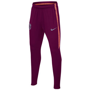 Nike Barcelona Youth Squad Pant 2018 - Deep Maroon/Light Atomic Pink 894409-669