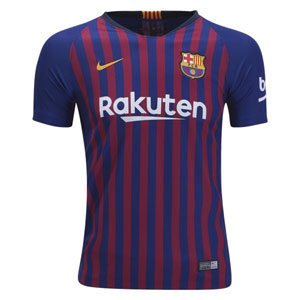 Nike Barcelona Youth Home Jersey 2018-2019 894458-456