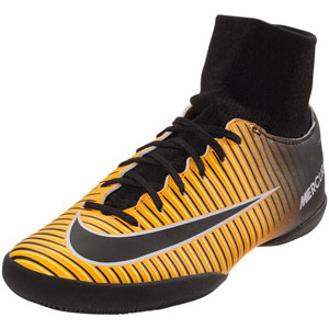 Nike Junior Mercurial X Victory VI DF IC - Laser Orange/Black Indoor 903599-801