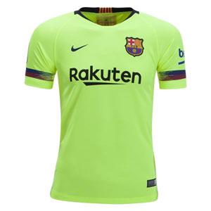 d66289bca3ddd Nike Barcelona Youth Away Jersey 2018-2019 919236-703