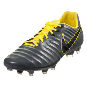 Nike Tiempo Legend VII Pro FG - Dark Grey/Yellow AH7241-070