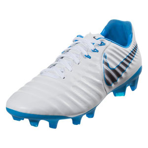 Nike Tiempo Legend VII Pro FG - White/Blue Hero AH7241-107
