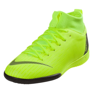 Nike Junior SuperflyX Academy VI DF IC - Volt/Black Indoor AH7343-701