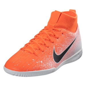 Nike Junior SuperflyX Academy VI DF IC - Hyper Crimson/White Indoor AH7343-801