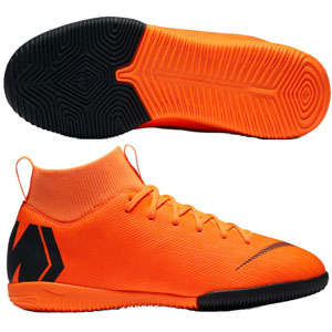 Nike Junior SuperflyX Academy VI DF IC - Total Orange/Black Indoor AH7343-810