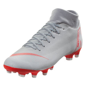 Nike Mercurial SuperFly VI Academy MG - Wolf Grey/Light Crimson AH7362-060