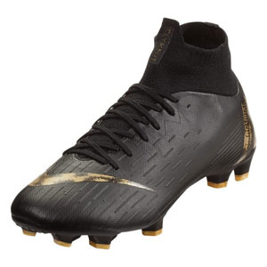 Nike Superfly VI Pro FG - Black/Metallic Vivid Gold AH7368-077