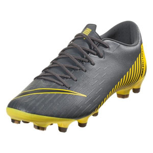 Nike Vapor 12 Academy MG - Dark Grey/Opti Yellow AH7375-070