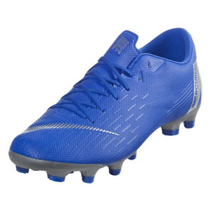 75e3b903f73 Nike Vapor 12 Academy MG - Racer Blue Metallic Silver AH7375-400