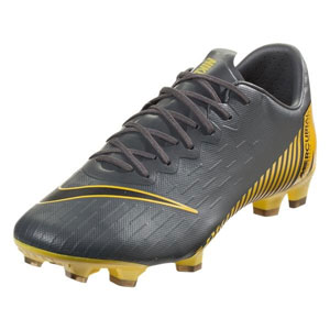 Nike Mercurial Vapor 12 Pro FG - Dark Grey/Opti Yellow AH7382-070