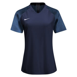 Nike Women's Dry Strike Jersey - College Navy/Photo Blue AJ1150-419