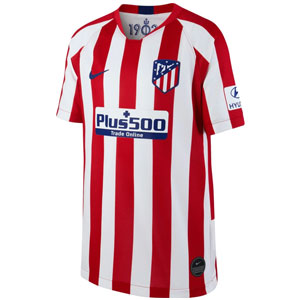 Nike Atletico Madrid Youth Home Jersey 2019-2020 AJ5792-612