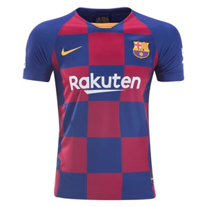 Nike Barcelona Youth Home Jersey 2019-2020 AJ5801-457