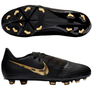 Nike Junior Phantom Venom Academy MG - Black/Metallic Vivid Gold AO0362-077