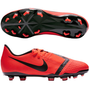 Nike Junior Phantom Vision Academy MG - Bright Crimson/Black AO0362-600