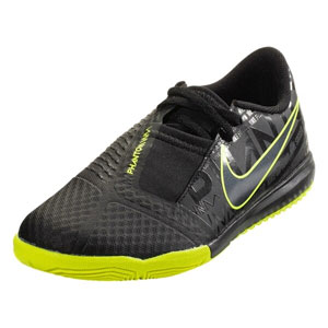 Nike Junior Phantom Venom Academy IC - Black/Volt Indoor AO0372-007