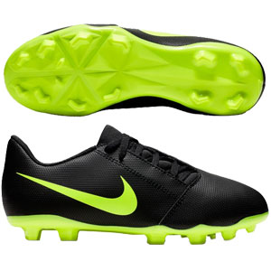 Nike Junior Phantom Venom Club MG - Black/Volt AO0396-007