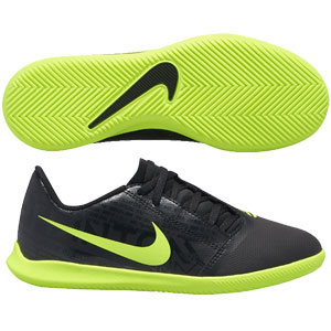 Nike Junior Phantom Venom Club IC - Black/Volt Indoor AO0399-007