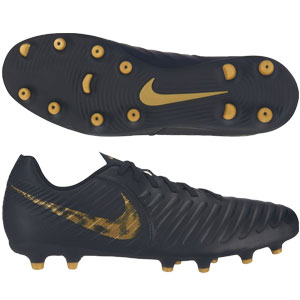 Nike Legend 7 Club FG - Black/Metallic Gold AO2597-077