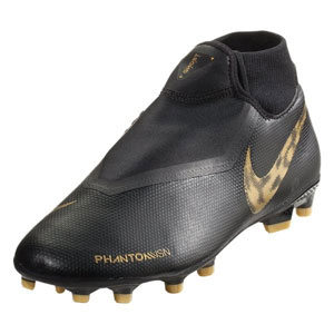 a67c7bb6974 Nike Phantom Vision Academy DF FG - Black Metallic Vivid Gold AO3258-077