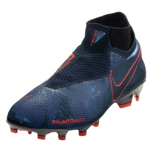 Nike Phantom Vision Elite DF FG - Obsidian/Blue Void AO3262-440