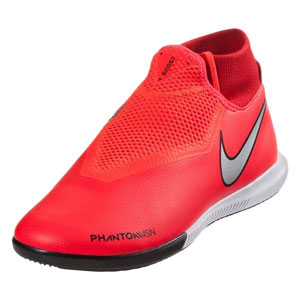Nike Phantom Vision Academy DF IC - Bright Crimson/Metallic Silver Indoor AO3267-600
