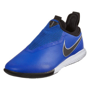 Nike Phantom Vision Pro DF IC - Racer Blue/Black/Metallic Silver Indoor AO3276-400