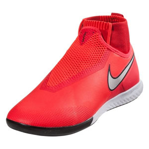 Nike Phantom Vision Pro DF IC - Bright Crimson/Metallic Silver Indoor  AO3276-600