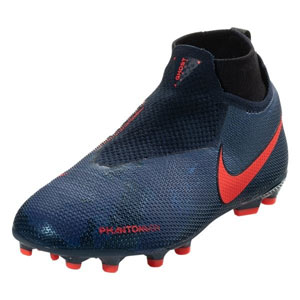 Nike Junior Phantom Vision Elite DF MG - Obsidian/Blue Void AO3289-440