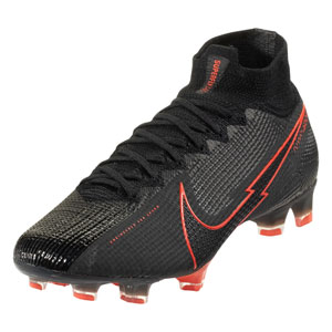 Nike Superfly VII Elite FG - Black/Red AQ4174-060