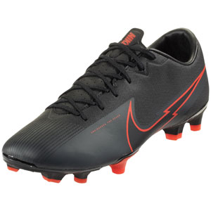 Nike Vapor 13 Academy FG - Black/Red AT5269-060