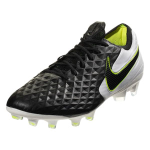 Nike Tiempo Legend VIII Elite FG - Black/White/Volt AT5293-007