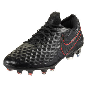 Nike Tiempo Legend VIII Elite FG - Black/Red AT5293-060