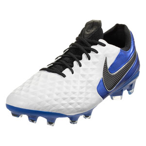 Nike Tiempo Legend VIII Elite FG - Black/Royal Blue AT5293-104