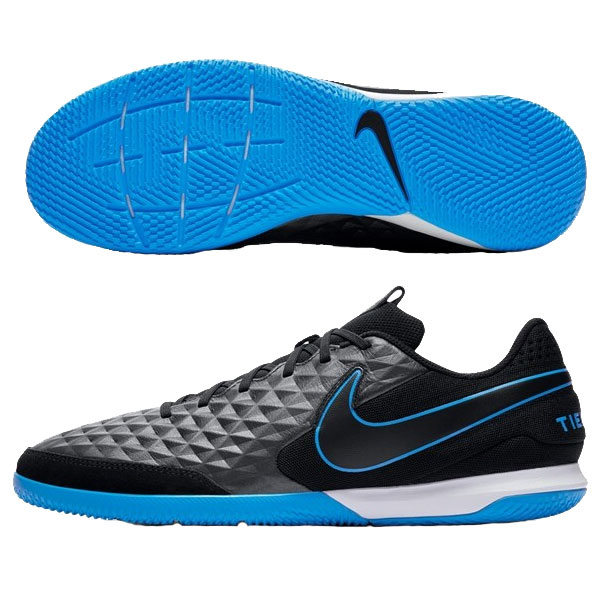 Nike Tiempo Legend VIII Academy IC - Black/Blue Hero Indoor AT6099-004