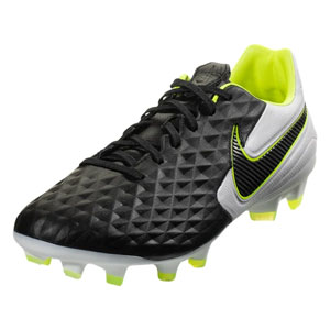 Nike Tiempo Legend VIII Pro FG - Black/Black/White AT6133-007