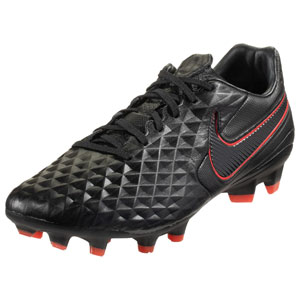 Nike Tiempo Legend VIII Pro FG - Black/Chile Red/Dark Smoke Grey AT6133-060