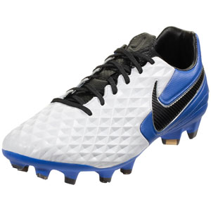 Nike Tiempo Legend VIII Pro FG - White/Hyper Royal AT6133-104